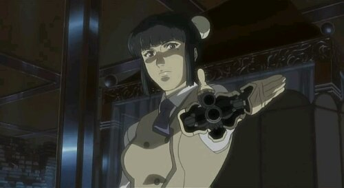 Anime Series Ghost On The Shell Concealed Handgun Peripheral Design Blog