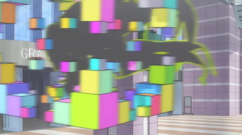 anime - gatchaman crowds - fractal rubix alien,