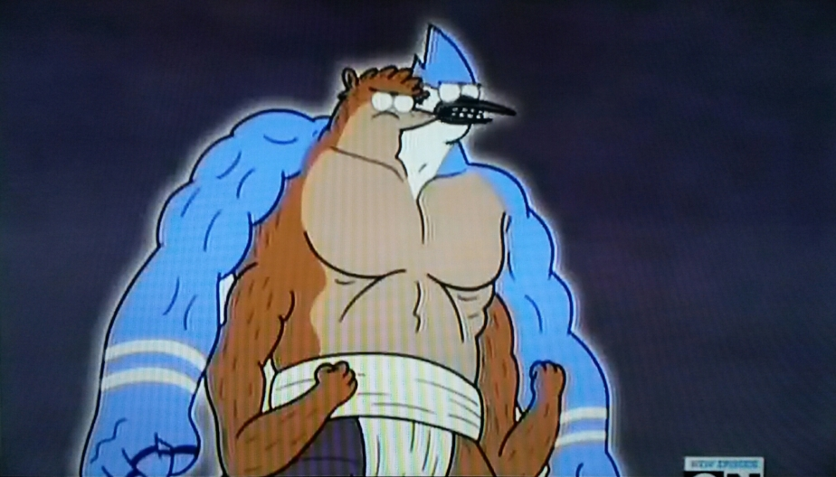 CARTOON • THE REGULAR SHOW • maximised